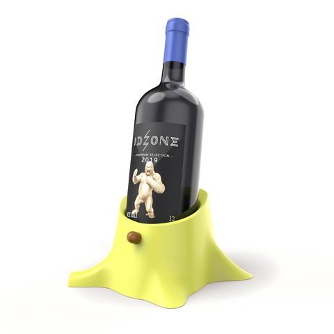 Download STL Trunk Wine Bottle Holder, ralphzoontjens