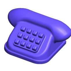 Download free 3D printing templates Miniature Phone, ralphzoontjens