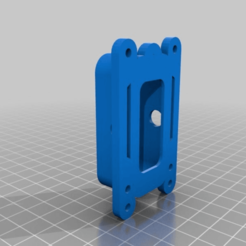 Download free 3D printing templates Arduino Lilypad Power supply mount, ralphzoontjens