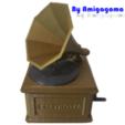 amigamusiqueR.png Download STL file Phonograph • 3D printer design, amigapocket