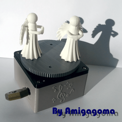 Download free 3D print files An animated music box, amigapocket