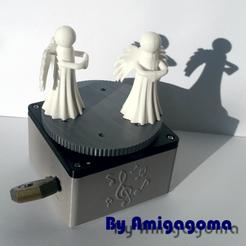 Descargar diseños 3D gratis Una caja de música animada, amigapocket