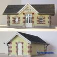 Fichier imprimante 3D Gare de Dhuizon, amigapocket