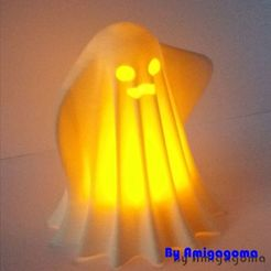 fantome3.jpg Download free STL file Ghost • 3D printing object, amigapocket