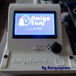 Free STL file Amigagoma boitier ecran pour Dagoma DiscoEsay, amigapocket