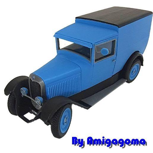 c4fourgonette.jpg Download STL file Citroën C4 Fougon Tôlé • 3D printing object, amigapocket