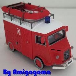 tubezodiac4.jpg Download STL file Citroën tube firefighter version with boats • 3D printable model, amigapocket