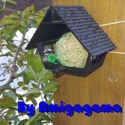 mangeoire.jpg Télécharger fichier STL gratuit Mangeoire pour oiseaux • Plan à imprimer en 3D, amigapocket