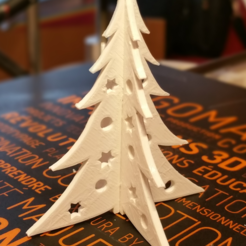 Free 3D print files Christmas tree, amigapocket