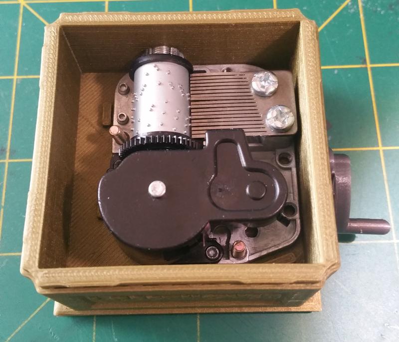 amigamusique interieur.png Download STL file Phonograph • 3D printer design, amigapocket