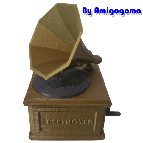 amigamusique.png Download STL file Phonograph • 3D printer design, amigapocket
