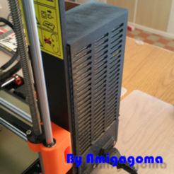 Download free 3D printing models Power supply Prusa I3 MK 3, amigapocket