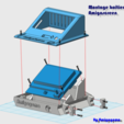 Download free STL file Amigagoma boitier ecran pour Dagoma DiscoEsay • Design to 3D print, amigapocket