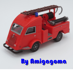 galion pompier 1.png Download STL file Renault Galion Fireman • 3D printable model, amigapocket