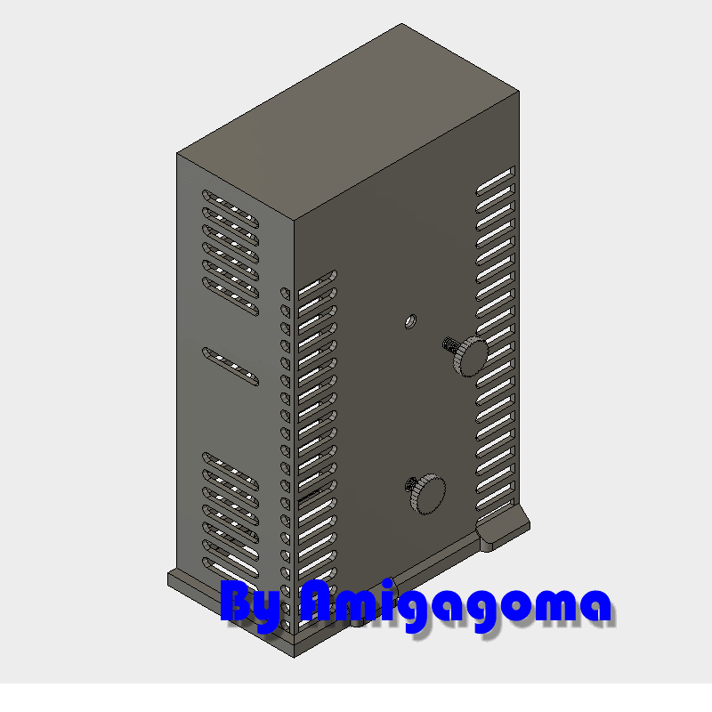 boitier.png Download free STL file Power supply Prusa I3 MK 3 • 3D print model, amigapocket