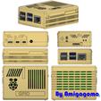 Descargar modelos 3D gratis Caja de frambuesas pi 4, amigapocket