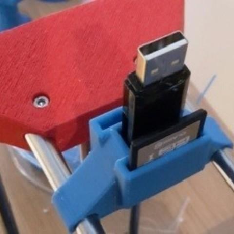 fichier imprimante 3d gratuit support clef et cartes pour discoeasy dagoma cults. Black Bedroom Furniture Sets. Home Design Ideas