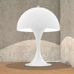 Fichier imprimante 3D Lampe de table Panthella, hovmoller