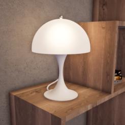 Download STL file Panthella Table Lamp, hovmoller