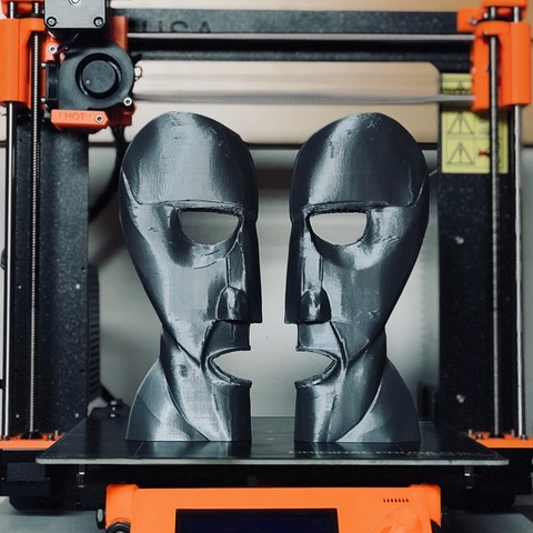 Division Bell Prusa 2.JPG Download STL file The Division Bell Statue   Pink Floyd • 3D printing design, Joaco3D