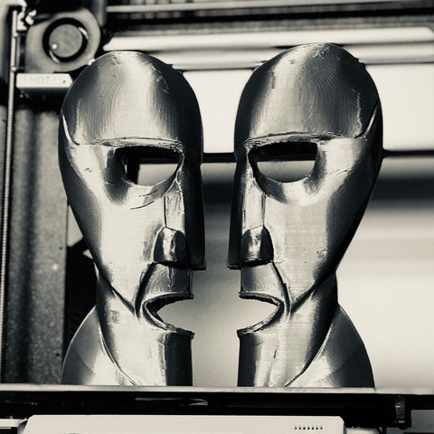 Division Bell Prusa 1.JPG Download STL file The Division Bell Statue   Pink Floyd • 3D printing design, Joaco3D