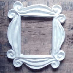 Download free 3D printing designs FRIENDS - Peephole Frame, Joaco3D