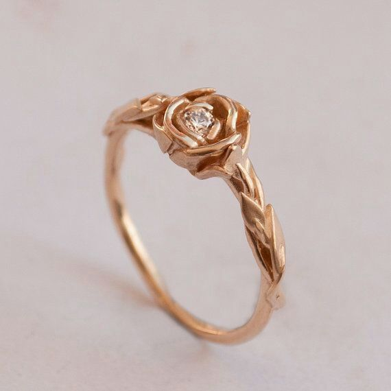 rosa.jpg Download STL file Pink Flower Ring • Design to 3D print, JHMPlateria