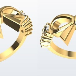 Download 3D model Bow Ring, Paco182