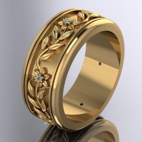 Download 3D printer designs Flower Leaves Earring., Paco182