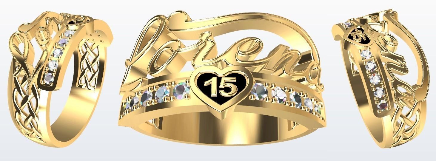 Lorena.jpg Download STL file Name Lorena 15 • 3D print model, JHMPlateria