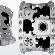 argolla engranes.jpg Download STL file Gear ring • 3D printing design, JHMPlateria
