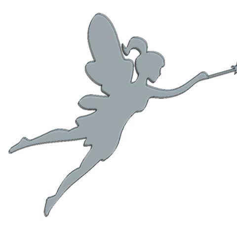 3D printing model Fairy, 3DHAG