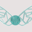 papillon2.png Download STL file Graphic Butterfly Wing • 3D printing template, 3DHAG