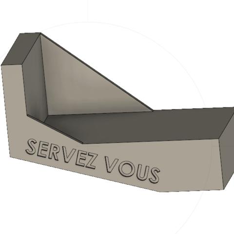 3D printer files Business card holder, 3DHAG