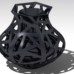 Download STL file cage vase • 3D printable model, jp-design