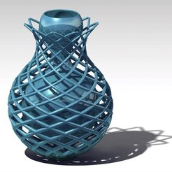 Download STL file diamond vase • 3D print object, jp-design