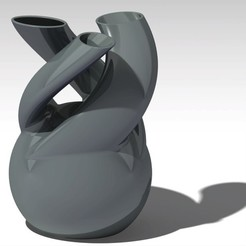 Modelos 3D para imprimir 3 registros florero, jp-design