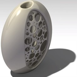 egg vase 3D printer file, jp-design