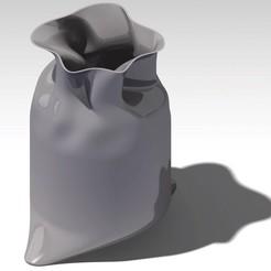 plan 3d vase sachet, jp-design