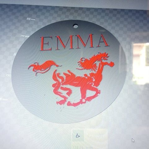 40358062_468073483706432_6629465949055483904_n.jpg Download STL file horse key ring Emma • 3D printer design, steph86160