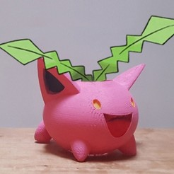 Free 3D print files Hoppip Planter, SWRL