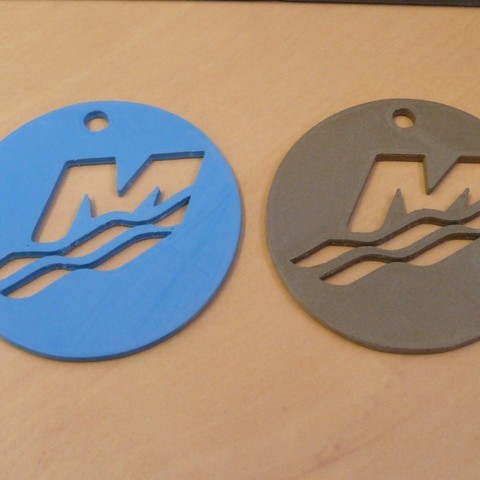 Download STL file Mercury keychain • Object to 3D print, jeepaber