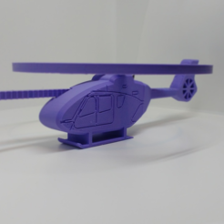 Download free STL file Flying Helicopter Toy - H145 • 3D printer template, BallardBandit