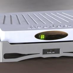 Télécharger fichier STL gratuit Refroidisseur de la freebox V5 • Modèle imprimable en 3D, redohm
