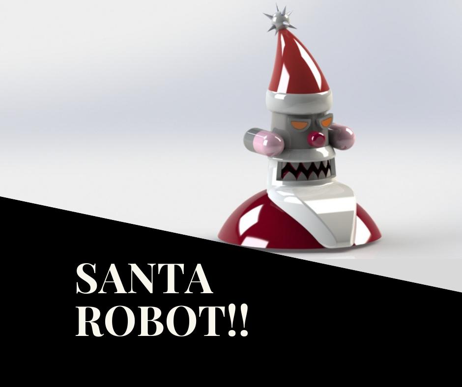 BATMAN!! (3).png Descargar archivo STL gratis Robot Santa • Objeto para impresora 3D, sketchprint3d