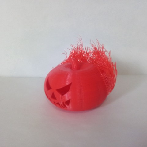 Download free 3D printer designs Hairy Pumpkin, sketchprint3d