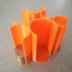 Download free 3D printing files Coin Organizer, sketchprint3d