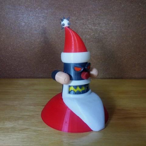 48425057_357686501687990_2166034904536580096_n.jpg Descargar archivo STL gratis Robot Santa • Objeto para impresora 3D, sketchprint3d