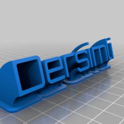 sweeping_name_plate_vf_20200309-60-1tf1aub.png Télécharger fichier STL gratuit Serkan • Design pour impression 3D, 3dmodelsturkey