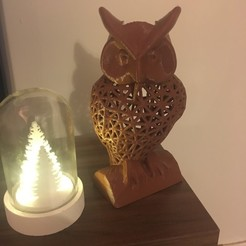 Free STL Owl Pen Holder / Tools Holder, FallenMeph